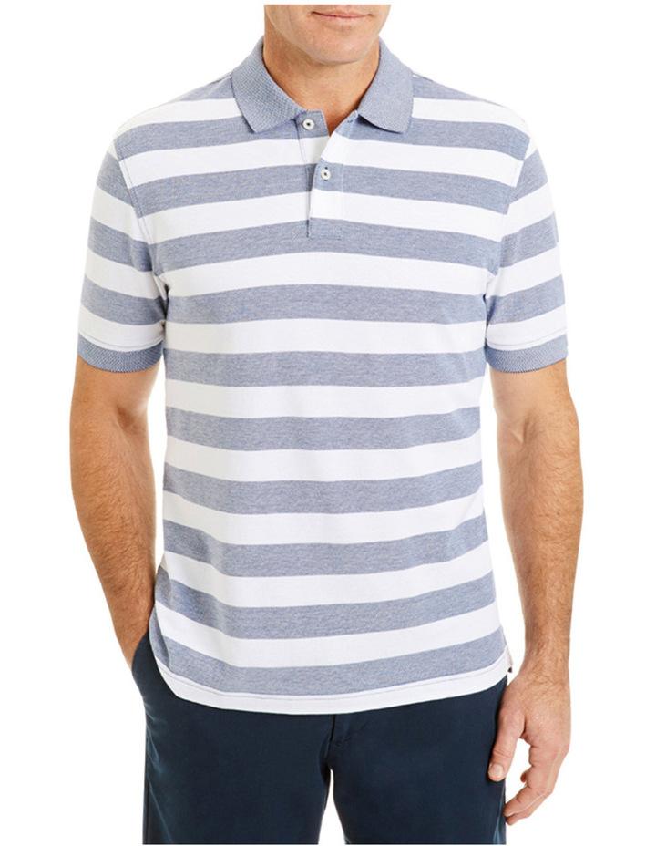 Classic Stripe Pique Polo image 1