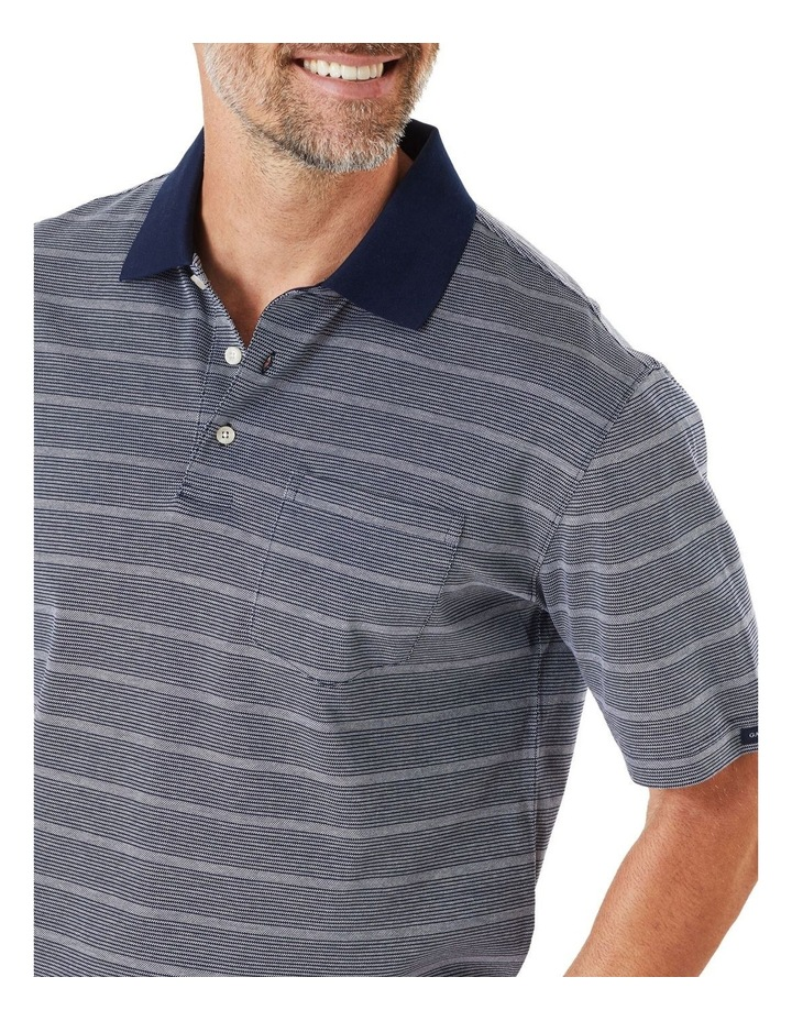 Mercerised Oxford Stripe Polo image 3