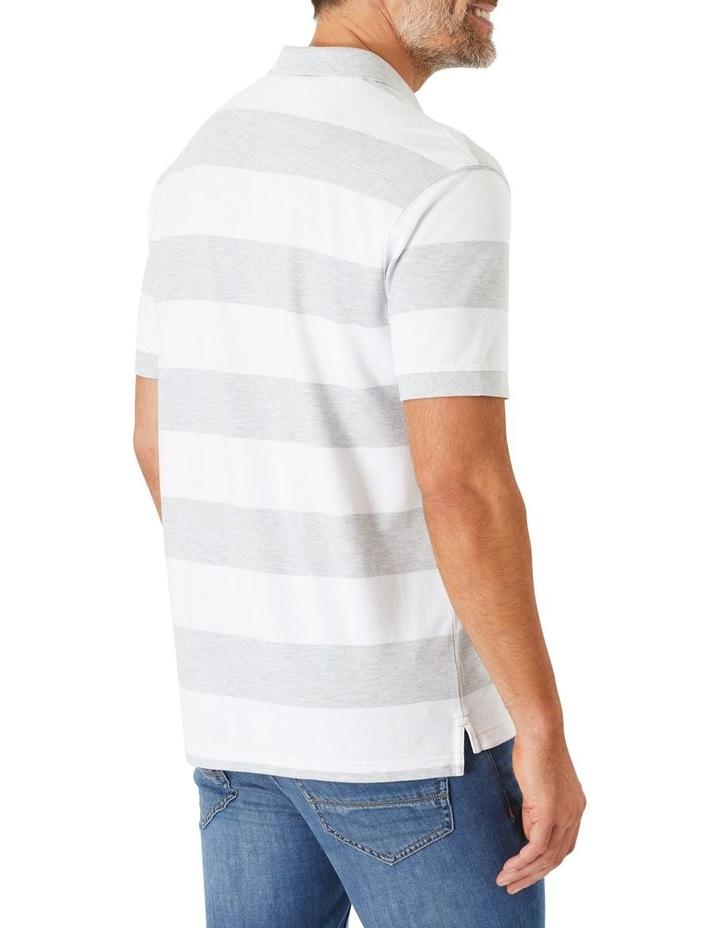 Block Stripe Polo image 2