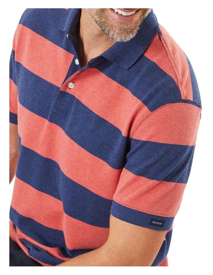 Block Stripe Polo image 3