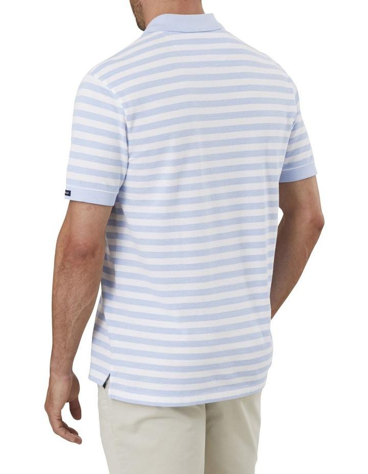 Classic Stripe Pique Polo image 2