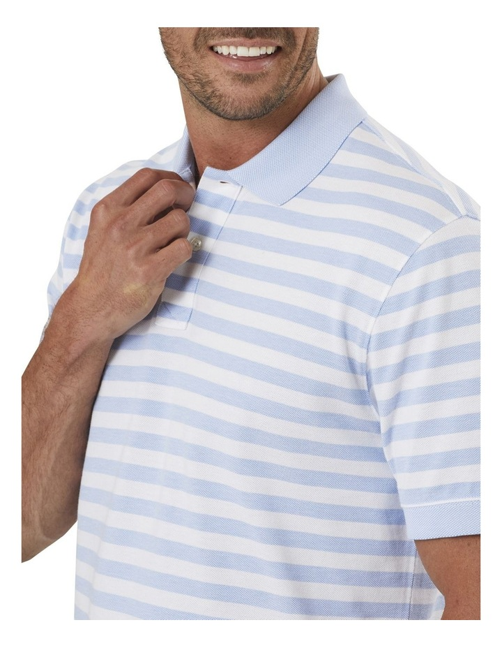 Classic Stripe Pique Polo image 3