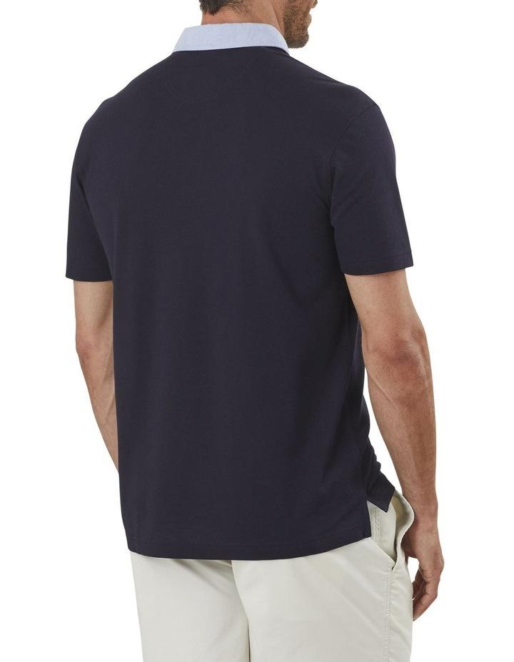 Shirt Detail Plain Polo image 2