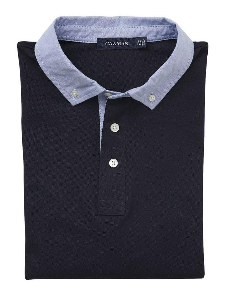Shirt Detail Plain Polo image 4