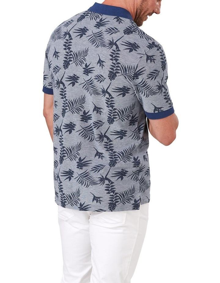 Tropical Print Polo image 2