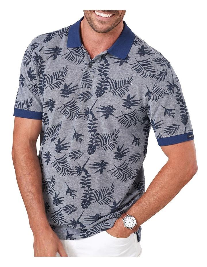Tropical Print Polo image 3