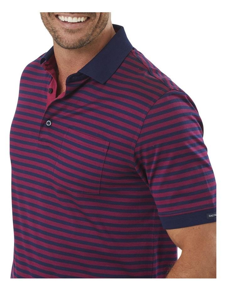 Mercerised Stripe Polo image 3