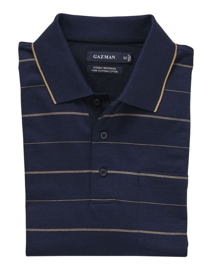 Mercerised Thin Stripe Polo image 4
