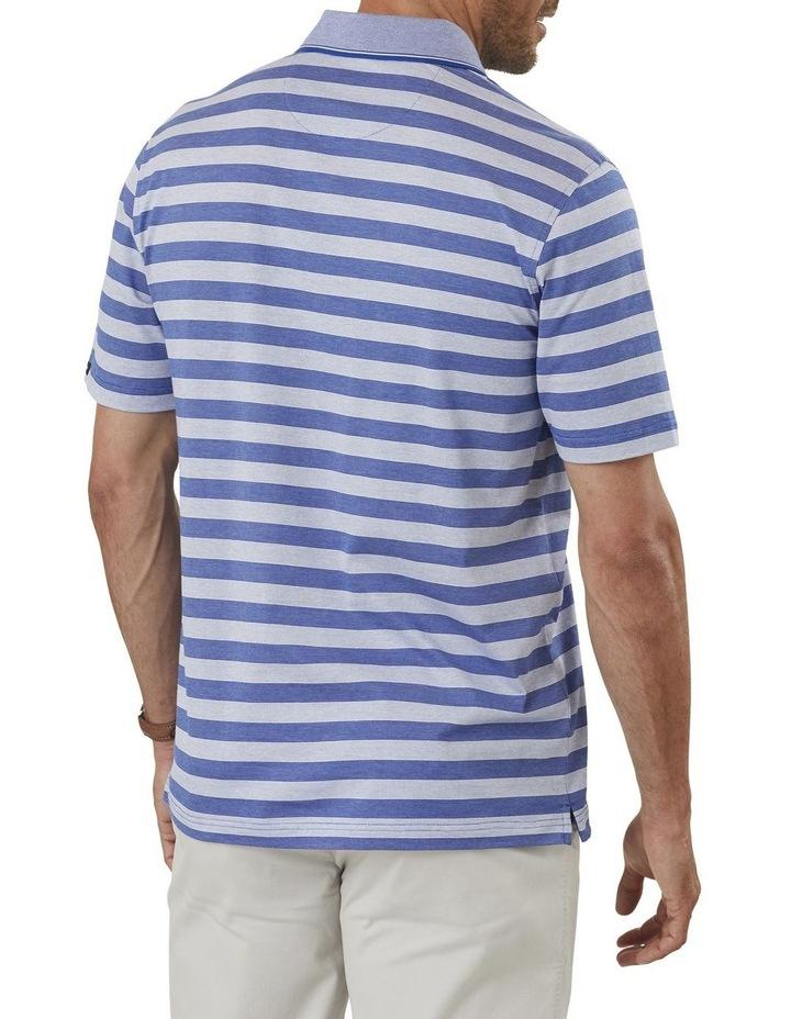 Mercerised Stripe Polo image 2