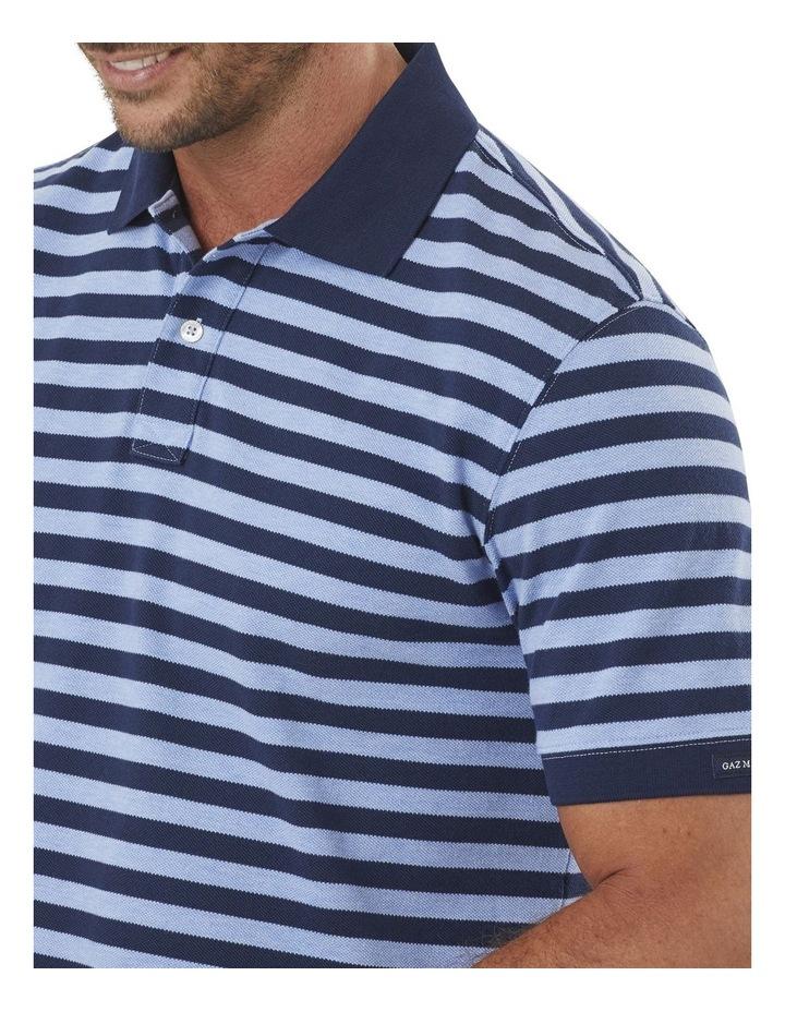 Block Stripe Pique Polo image 3