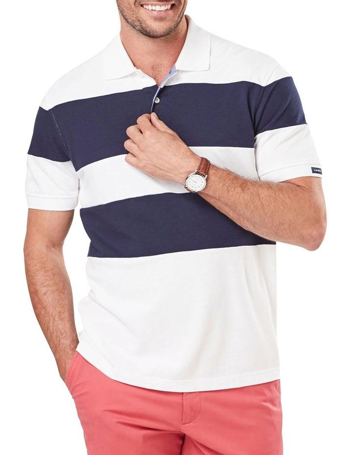 Block Stripe Polo image 1