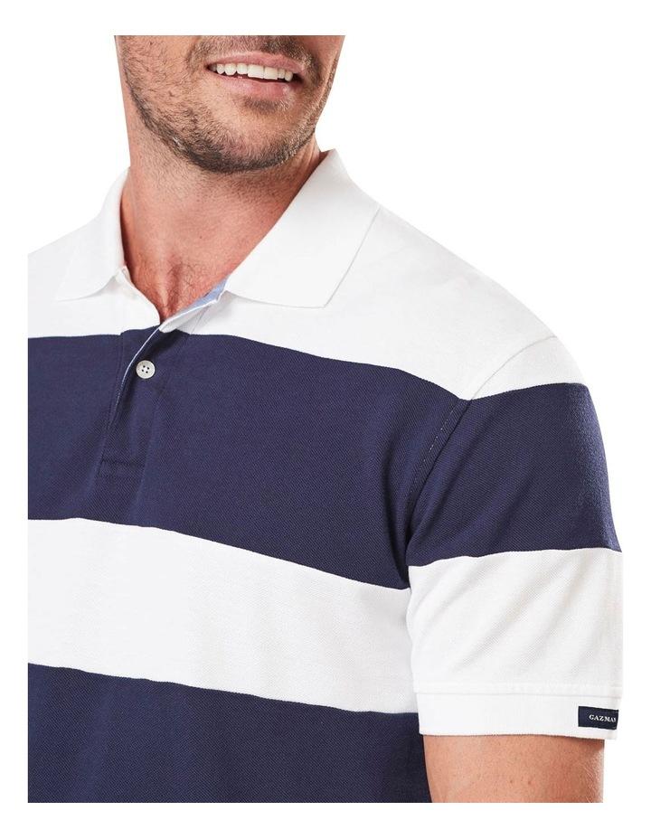 Block Stripe Polo image 4
