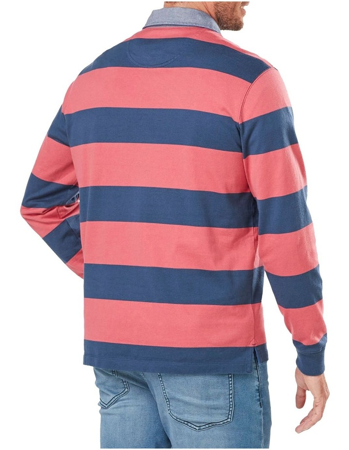 Long Sleeve Stripe Rugby image 2