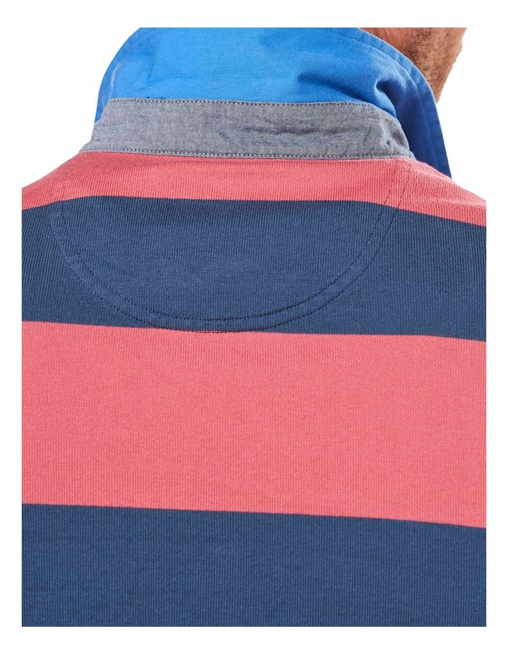Long Sleeve Stripe Rugby image 3