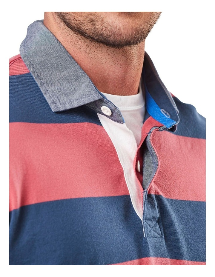 Long Sleeve Stripe Rugby image 4