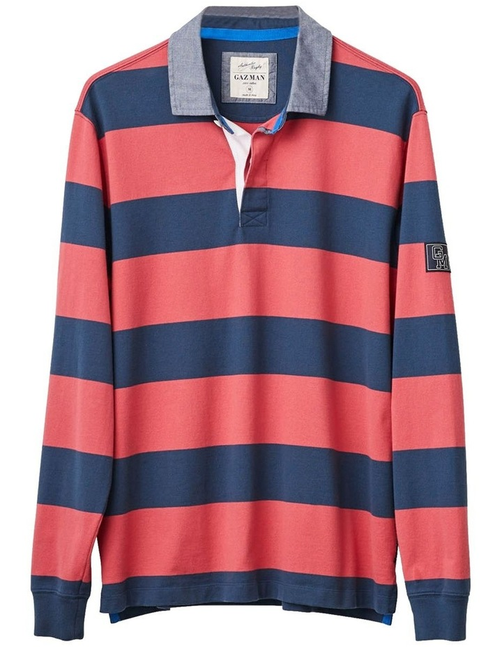 Long Sleeve Stripe Rugby image 5