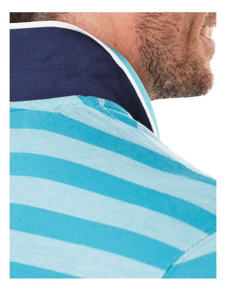 Oxford Stripe Pique Polo image 4