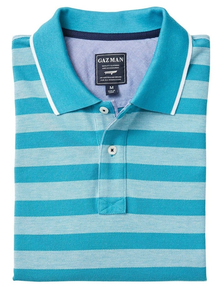 Oxford Stripe Pique Polo image 5