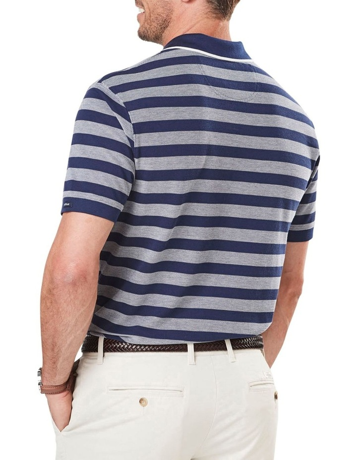 Oxford Stripe Pique Polo image 2