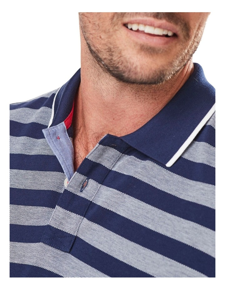 Oxford Stripe Pique Polo image 3