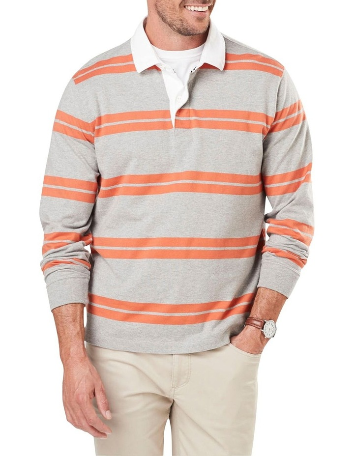 Long Sleeve Double Stripe Rugby image 1