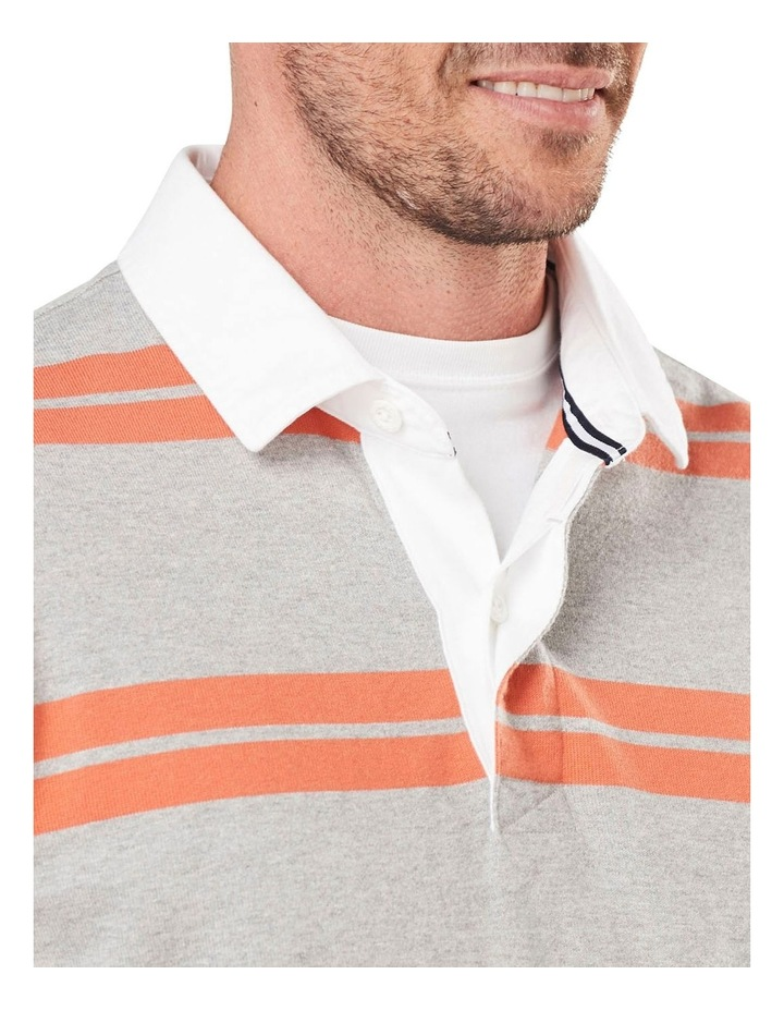 Long Sleeve Double Stripe Rugby image 3