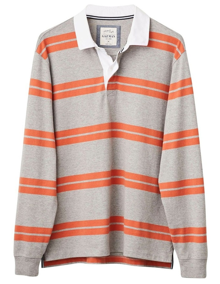 Long Sleeve Double Stripe Rugby image 4