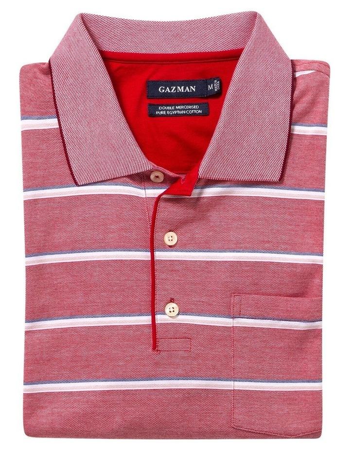 Jacquard Stripe Polo image 4