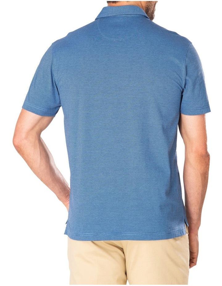 Stripe Jersey Pocket Polo image 2