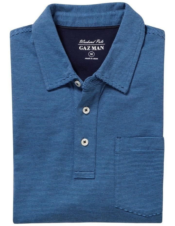 Stripe Jersey Pocket Polo image 4