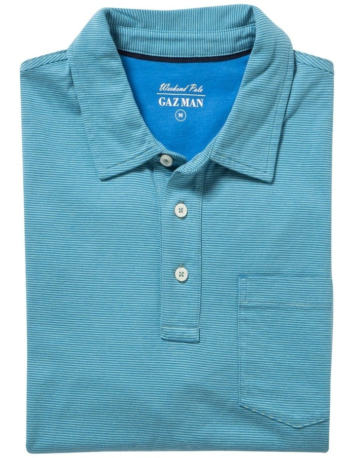 Stripe Jersey Pocket Polo image 4