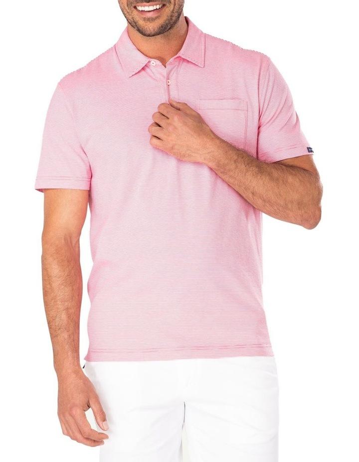 Stripe Jersey Pocket Polo image 1