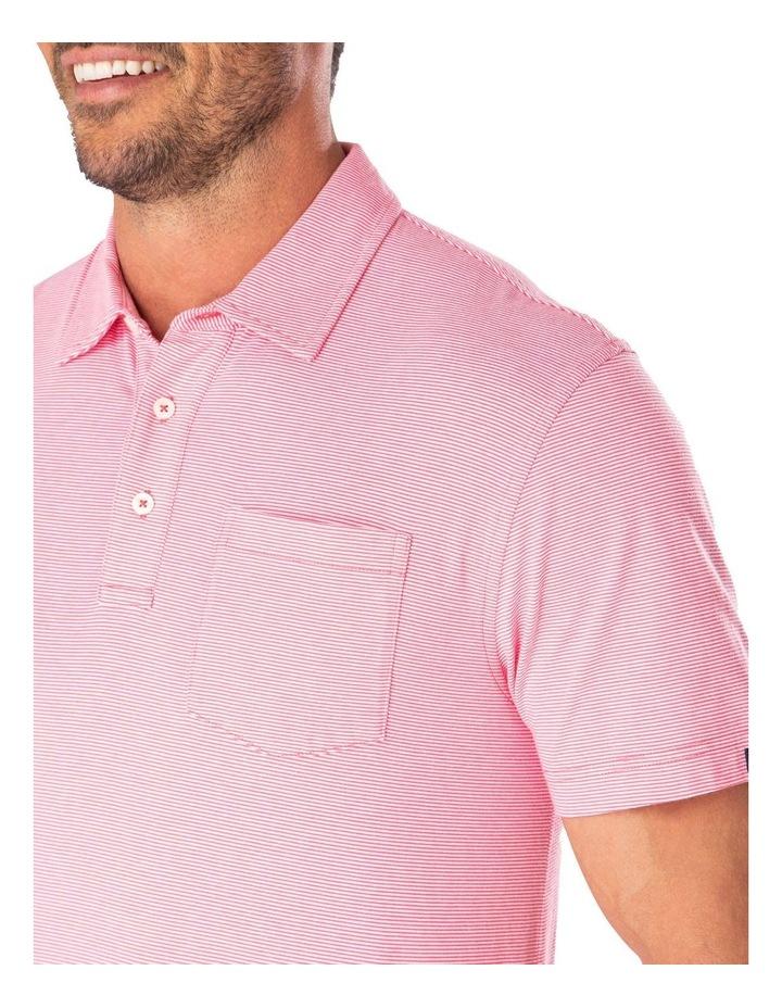 Stripe Jersey Pocket Polo image 3