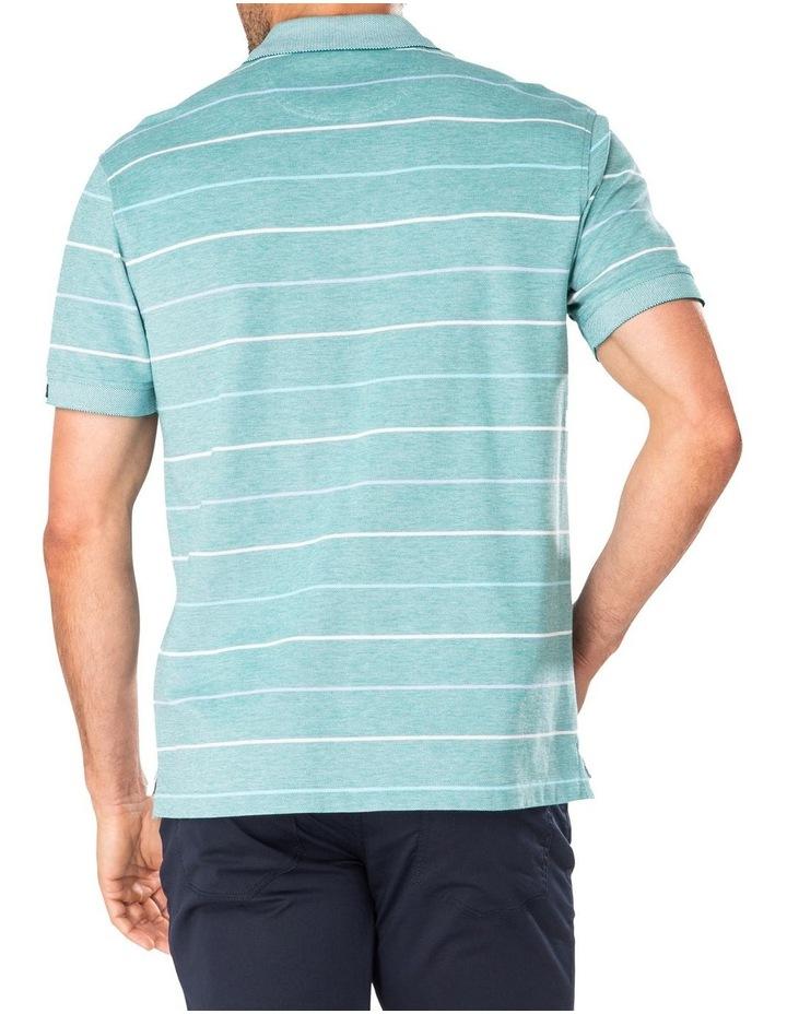 Fine Oxford Stripe Pique Polo image 2