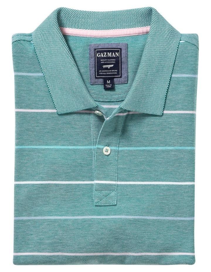 Fine Oxford Stripe Pique Polo image 4