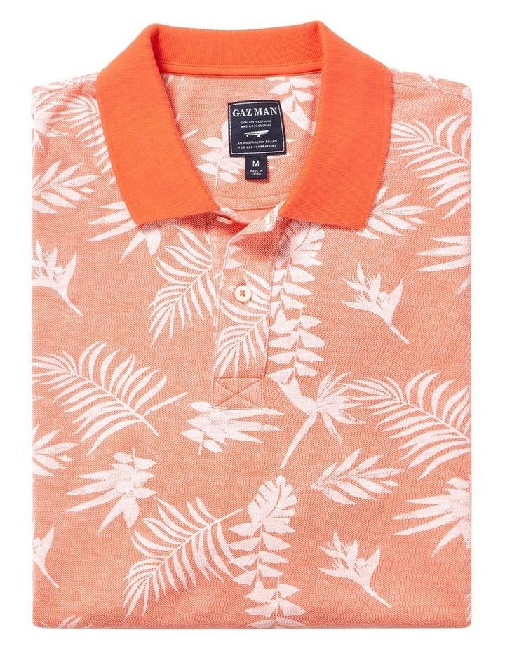 Tropical  Print Polo image 4