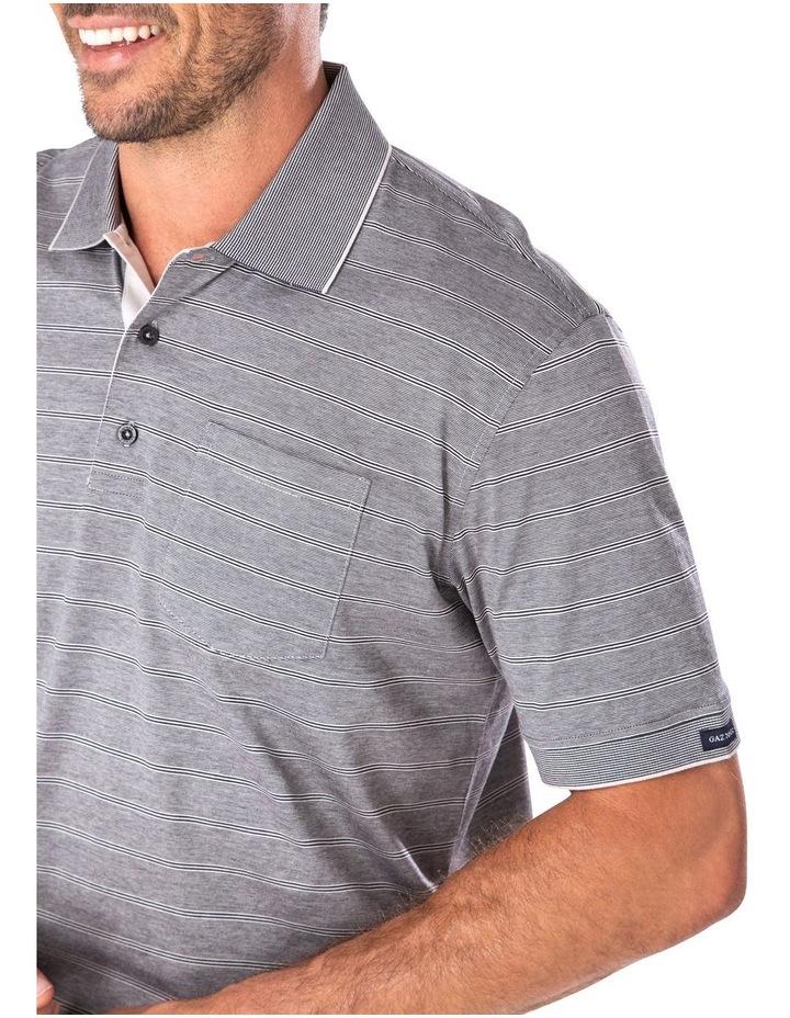Mercerised Feeder Stripe Polo image 3
