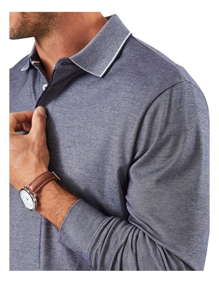 Long Sleeve Pique Polo image 3