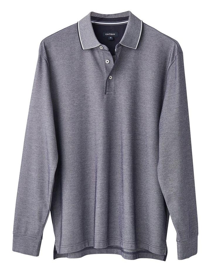 Long Sleeve Pique Polo image 4