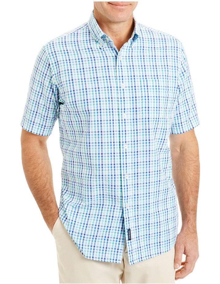 Seersucker Multi Check Shirt image 1