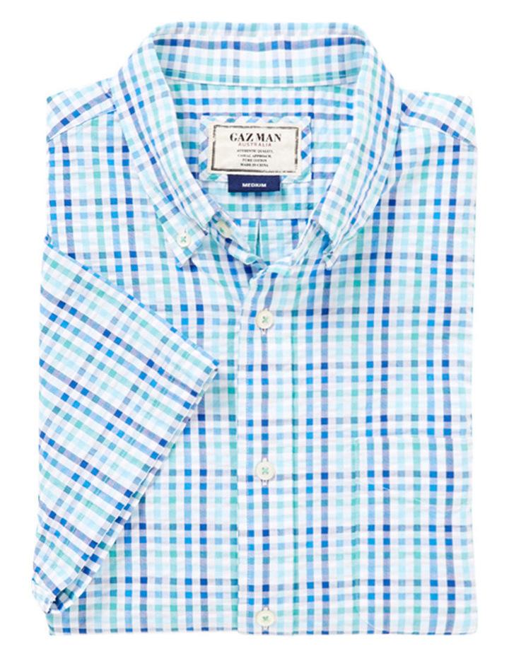 Seersucker Multi Check Shirt image 2