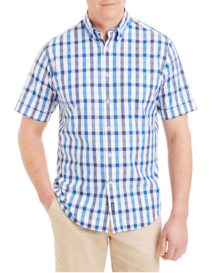 Easy Care Box Check Shirt image 1