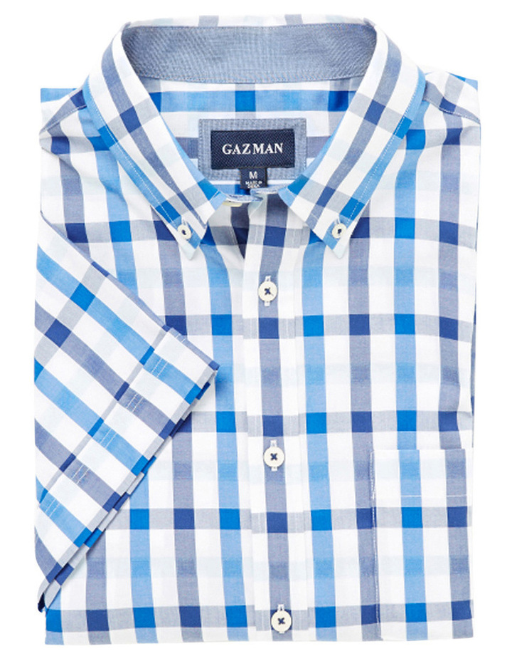 Easy Care Box Check Shirt image 2