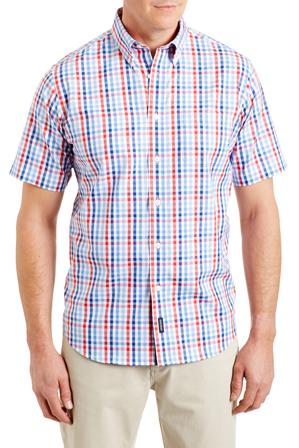 Gazman - Easy Care Oxford Multi Check Shirt