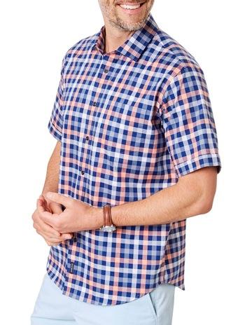 955b7dfe01a GazmanEasy Care Oxford Box Check Short Sleeve Shirt. Gazman Easy Care Oxford  Box Check Short Sleeve Shirt