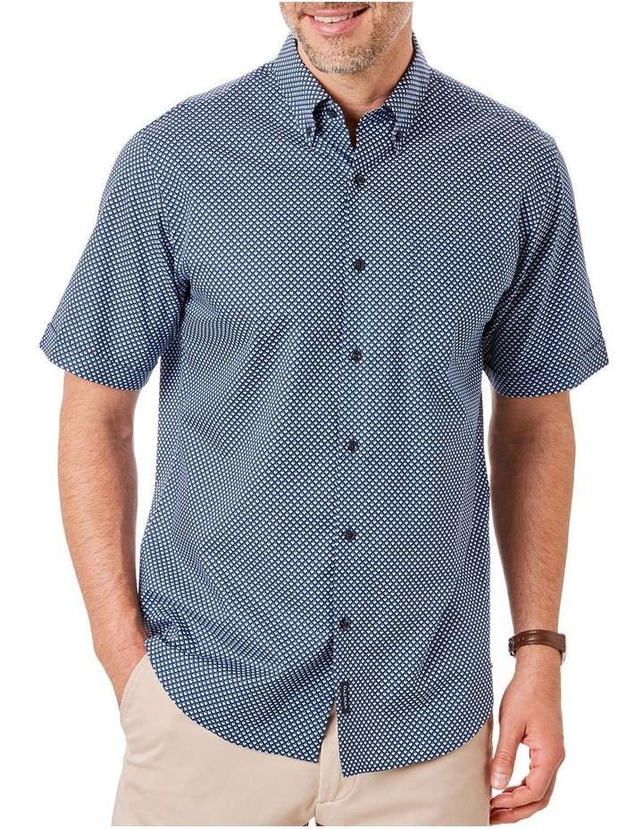 Smart Geo Print Short Sleeve Shirt image 1