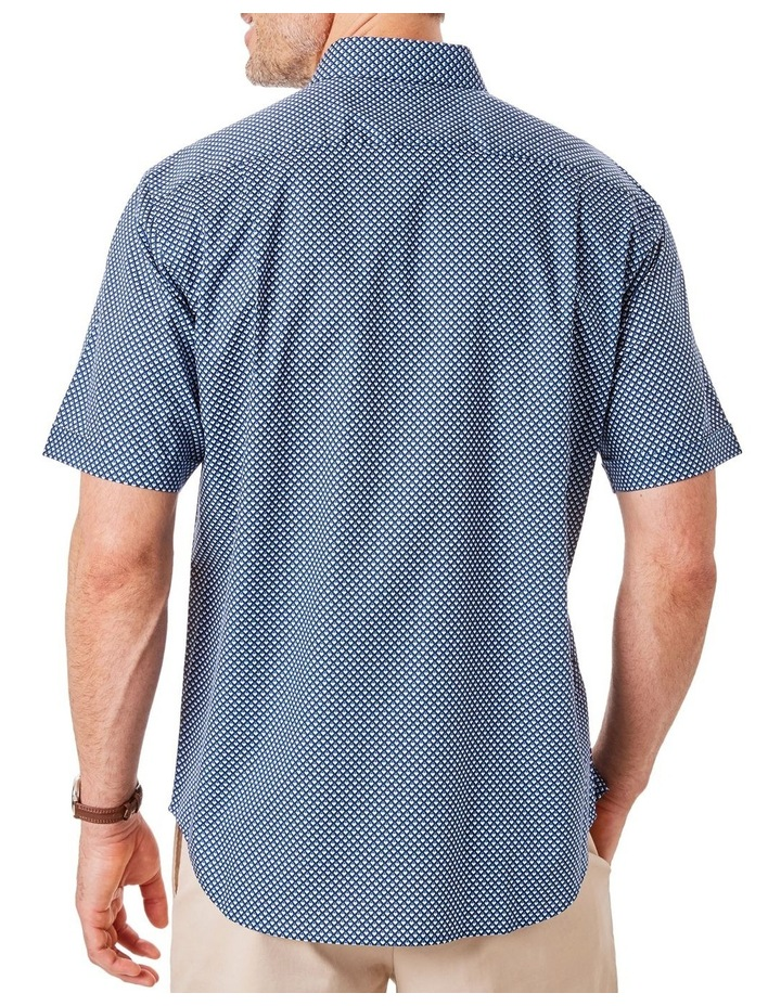 Smart Geo Print Short Sleeve Shirt image 2