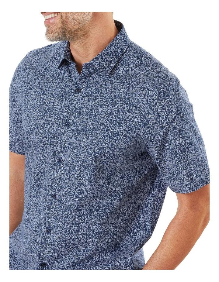 Casual Wave Print Short Sleeve Shirt image 3
