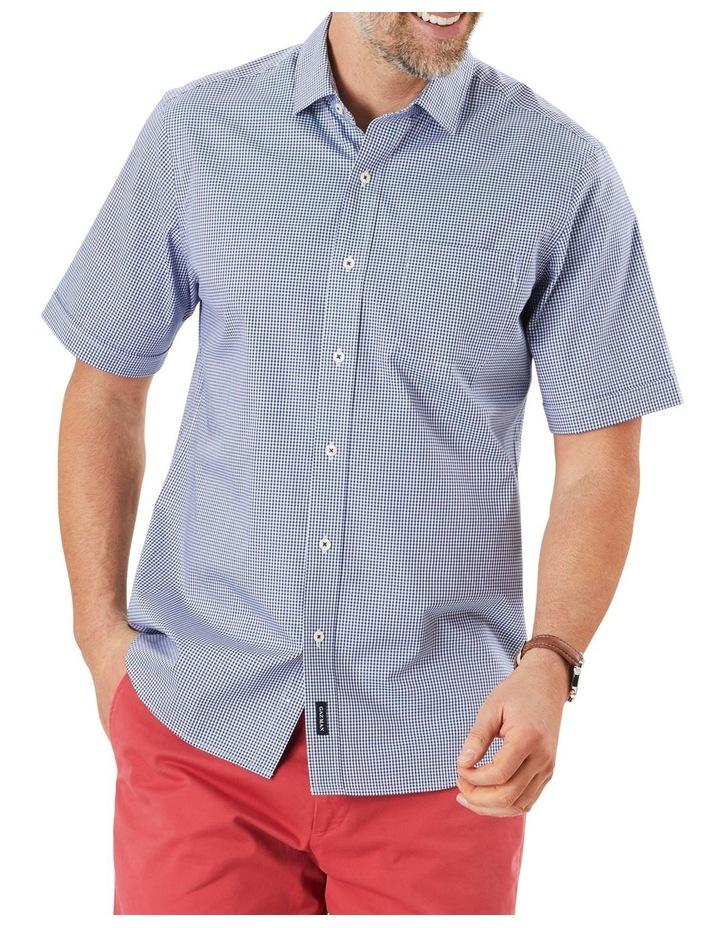 Easy Care Stretch Gingham Short Sleeve Shirt image 1