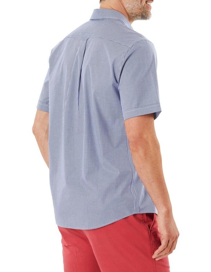 Easy Care Stretch Gingham Short Sleeve Shirt image 2
